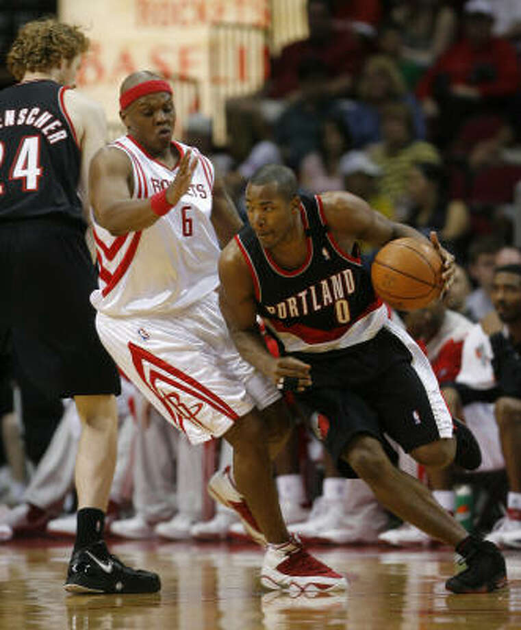 The Bonzi Wells experiment has come to an end. He won't be active for the Rockets remaining regular season games or the playoffs. Photo: Steve Campbell, Chronicle