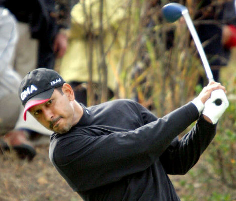 Masters qualifier Jeev Milkha Singh of India is ranked 37th in the world. Photo: AP