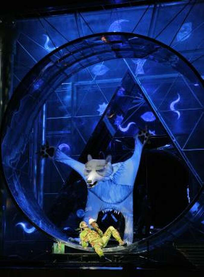 The direction and design of Julie Taymor were part of the appeal of the Metropolitan Opera's telecast of The Magic Flute. Photo: KEN HOWARD, METROPOLITAN OPERA | ASSOCIATED PRESS
