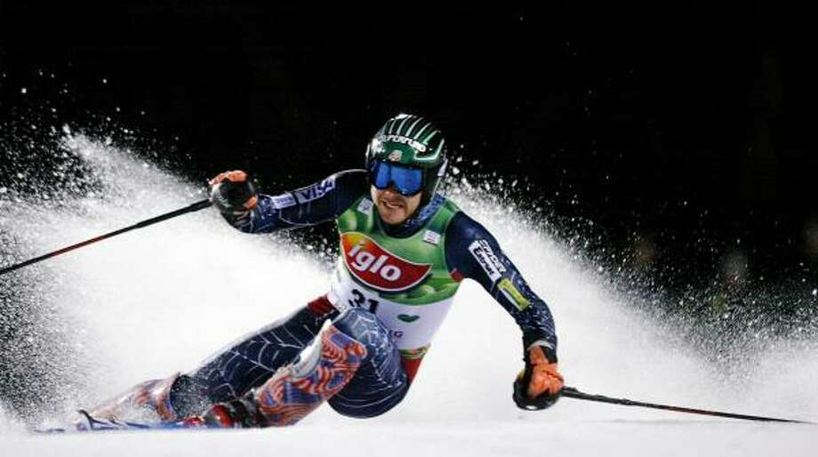 Bode Miller has his sights set on a slalom world championship. Photo: JOE KLAMAR, AFP/GETTY IMAGES