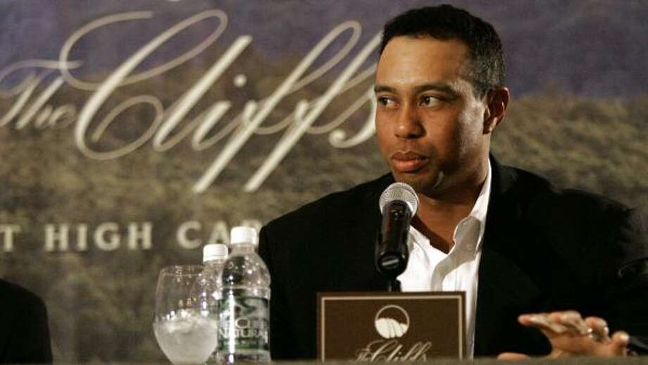 Tiger Woods says he and owner Jim Anthony want High Carolina to be a walking-only course but won't require it. Photo: MARY ANN CHASTAIN, ASSOCIATED PRESS