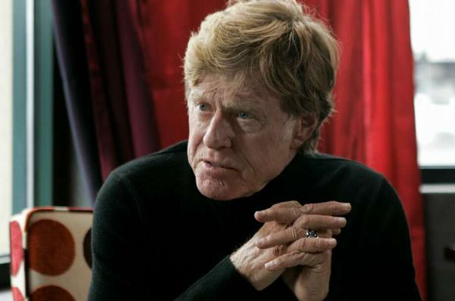 Robert Redford's new documentary focuses on a battle over coal-burning power plants in Texas. Photo: Amy Sancetta, ASSOCIATED PRESS