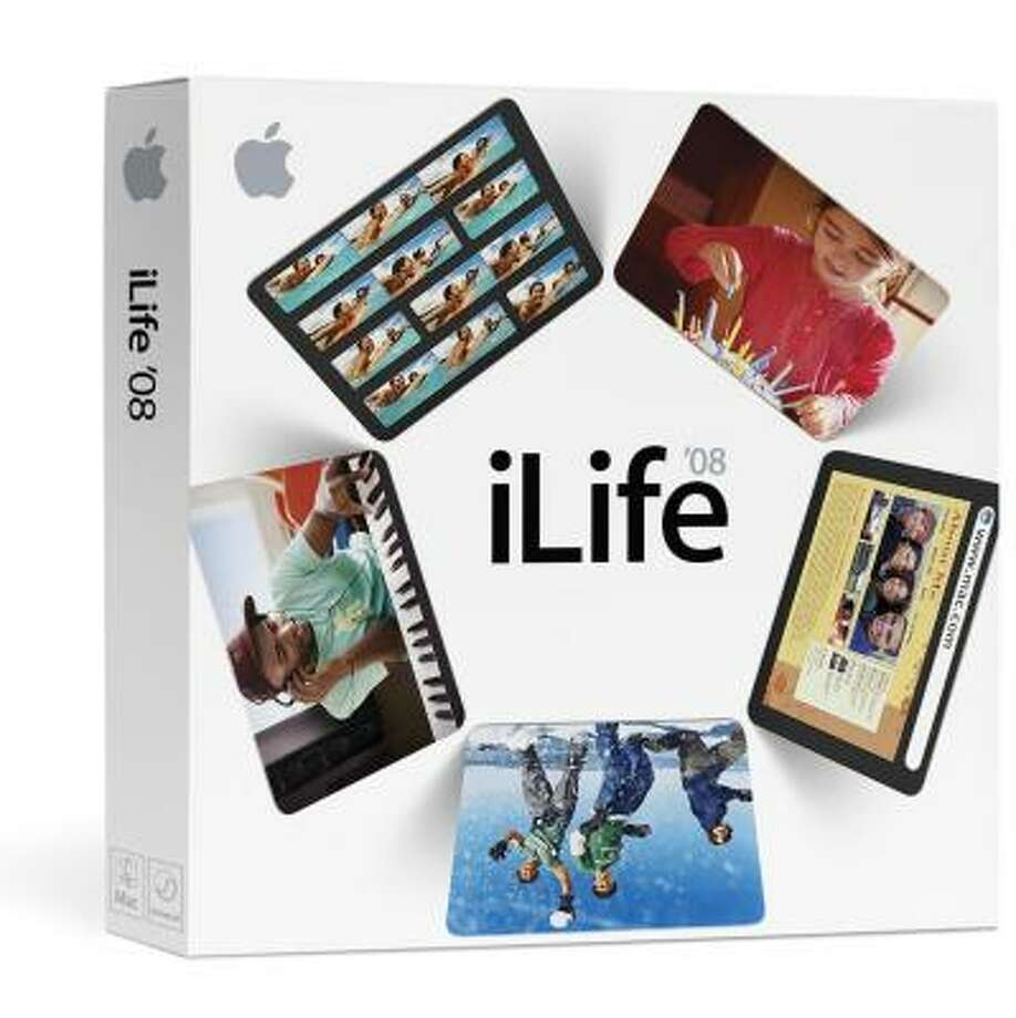 Programs in iLife, like iMovie, iPhoto and iDVD, make it easy to please dads and grads. Photo: APPLE