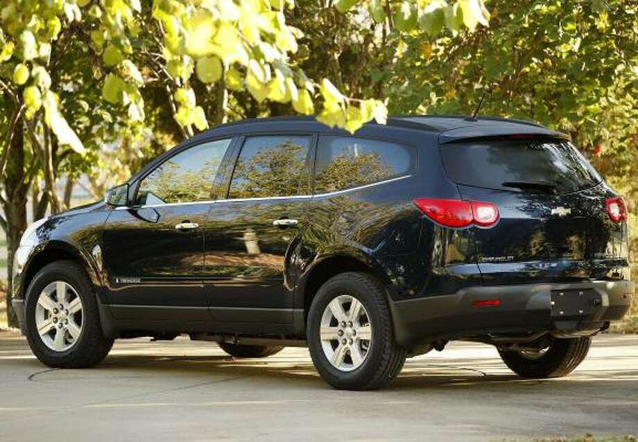 The new Chevrolet Traverse. Photo: Bill Waugh, ASSOCIATED PRESS