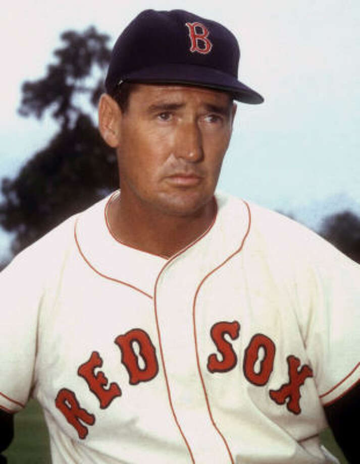 Boston Red Sox outfielder Ted Williams is baseball's last .400 hitter and the subject of a new documentary on HBO. Photo: Associated Press