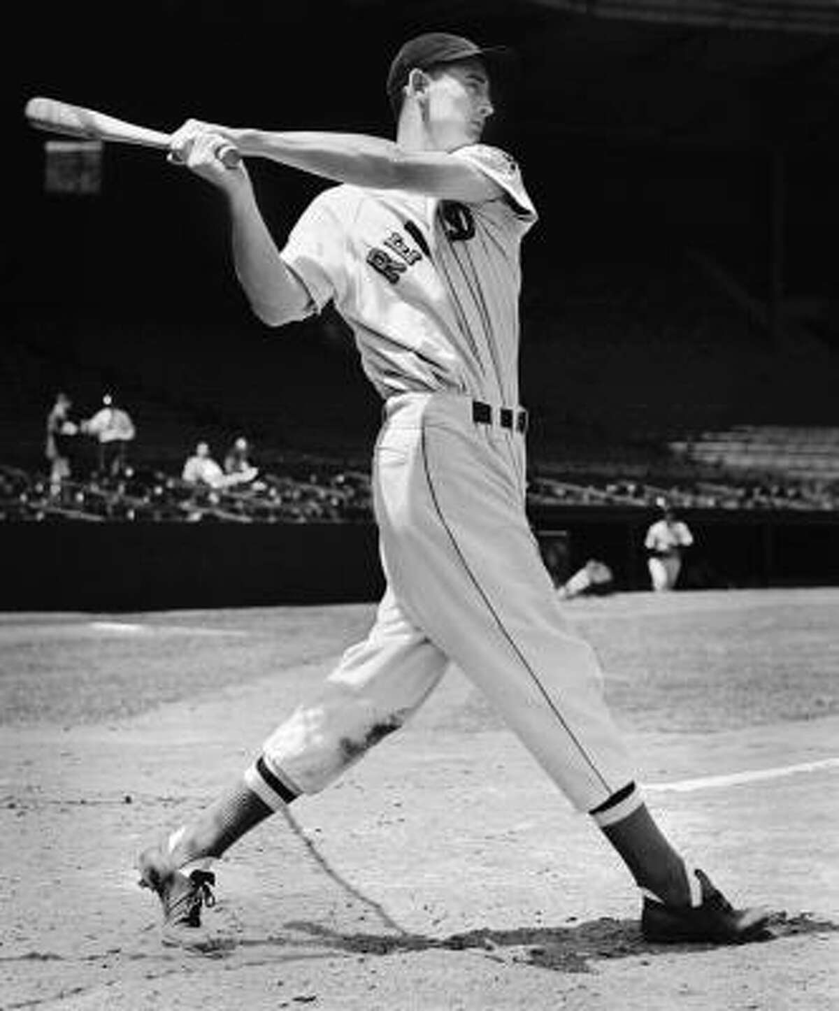 Boston Red Sox outfielder Ted Williams is baseball's last .400 hitter and the subject of a new documentary on HBO.