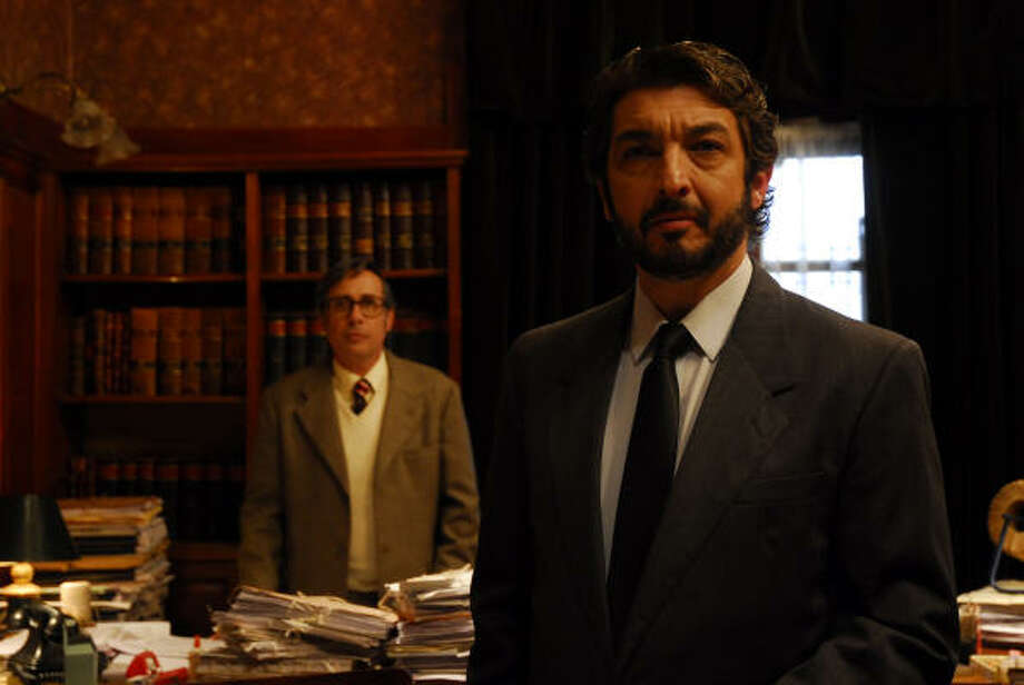 Guillermo Francellas, left, and Ricardo Darin Photo: Sony Pictures Classics
