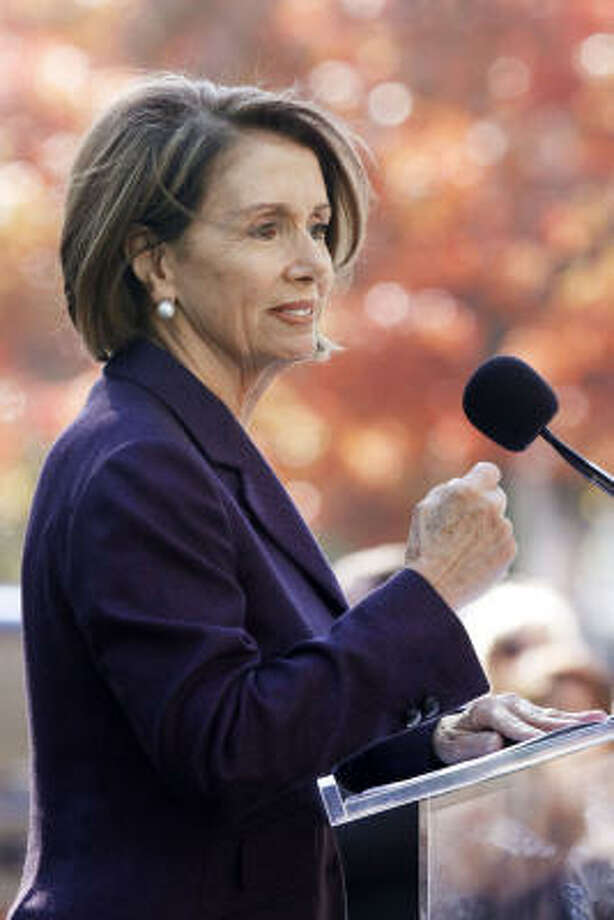 After the GOP midterm sweep, House Speaker Nancy Pelosi said she would run for minority leader for the next Congress. Photo: Jacquelyn Martin, AP