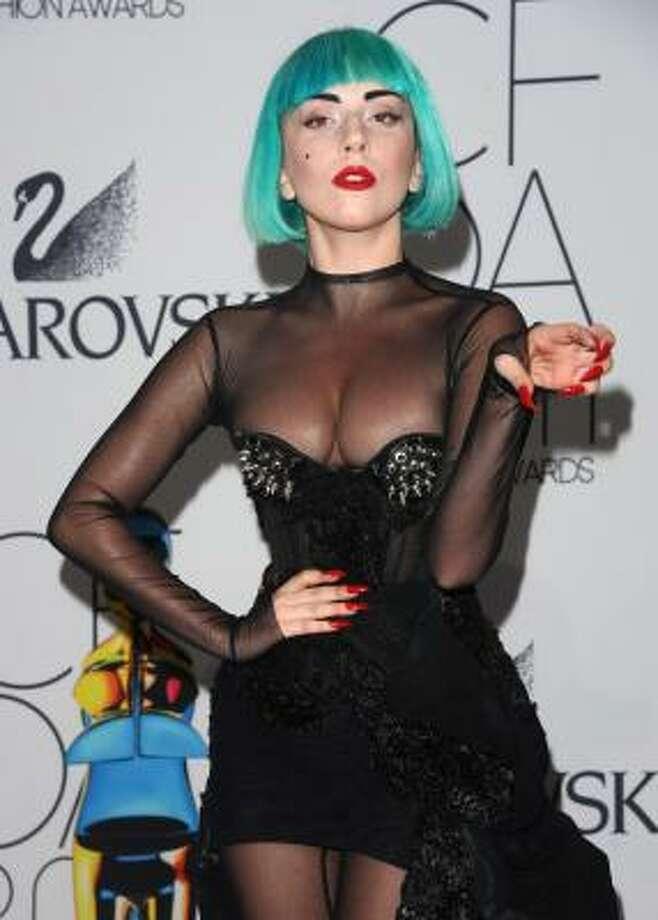Singer Lady Gaga Photo: Peter Kramer, Associated Press