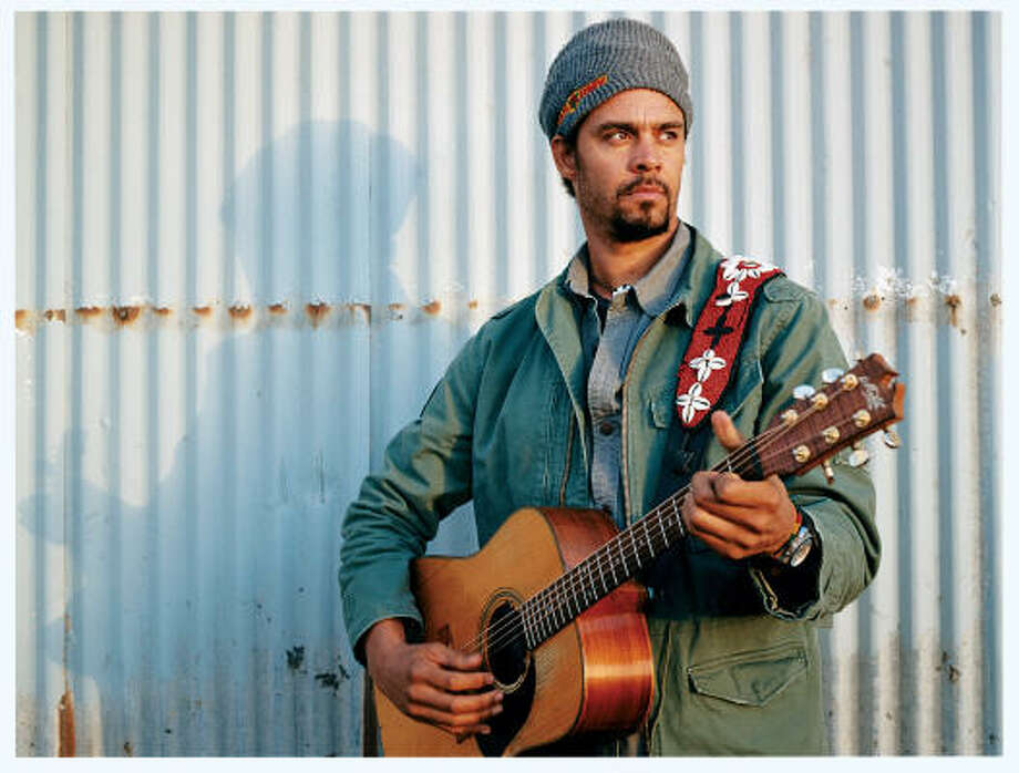 Michael Franti's latest is Yell Fire!, a modern, Marley-esque protest album informed by a visit to Iraq. Photo: ANTI- RECORDS
