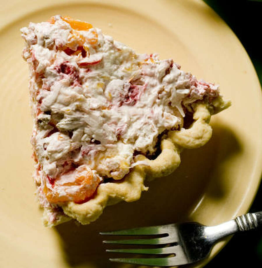 East Texas Millionaire's Delight (or Millionaire Pie) is a cool treat on a hot day. Photo: Nick De La Torre, Chronicle
