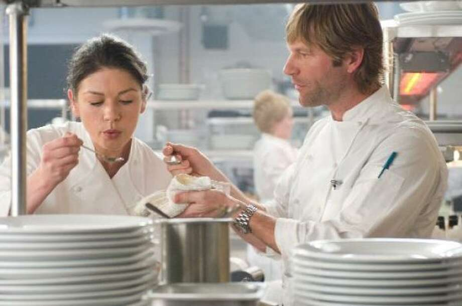 Catherine Zeta-Jones and Aaron Eckhart star in the romantic comedy No Reservations. Photo: Courtesy Photo