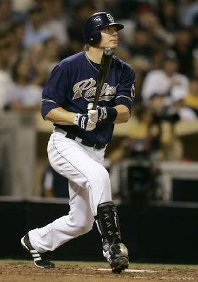 Former San Diego Padre Geoff Blum returns to the Astros. The super-utility player helped the Chicago White Sox win the 2005 World Series against the Astros, the team he played for in 2002 and 2003. Photo: Lenny Ignelzi, AP