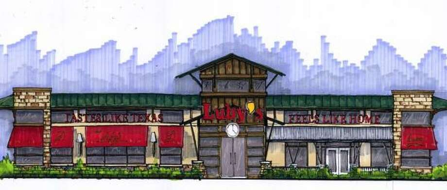 Rendering of a new prototype for Luby's cafeteria. Photo: LUBY'S