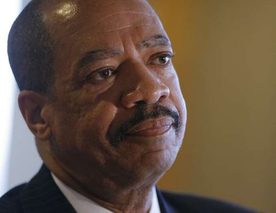 Texas Southern President John Rudley says changes are required. Photo: STEVE CAMPBELL, CHRONICLE