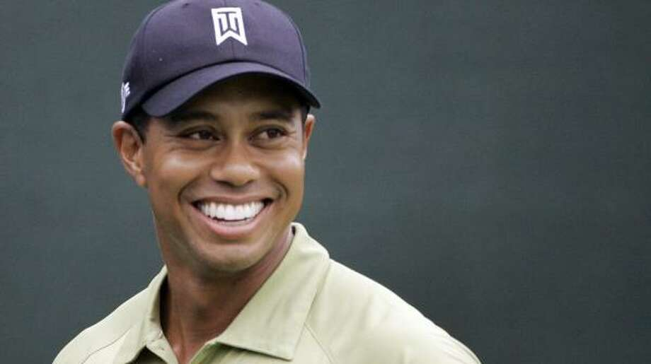 Seven wins in 2007, including his 13th major title, made Tiger Woods an easy player of the year choice. Photo: Rob Carr, AP