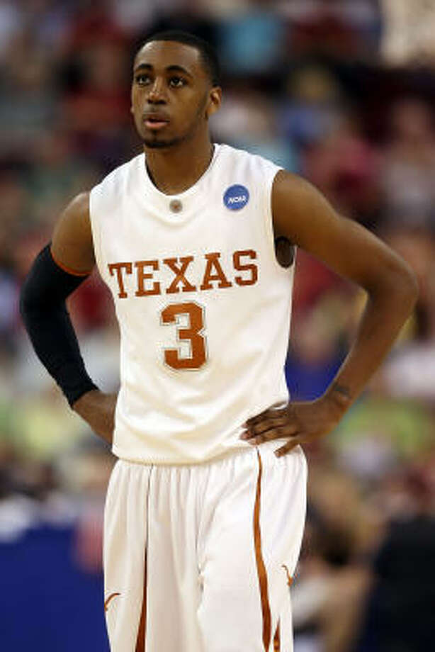 Texas guard A.J. Abrams he will withdraw his name from the NBA draft and return to the Longhorns next season. Photo: Andy Lyons, Getty Images