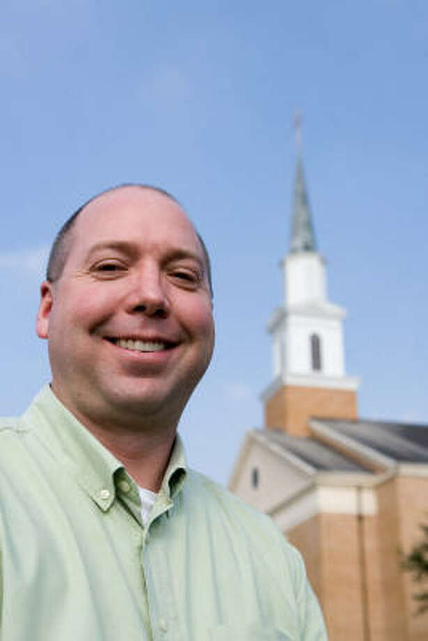 Toby Dagenhart of Katy has designed a web-based Prayer Room Software currently in use at Grace Presbyterian Church and other local churches. Photo: R. Clayton McKee, For The Chronicle