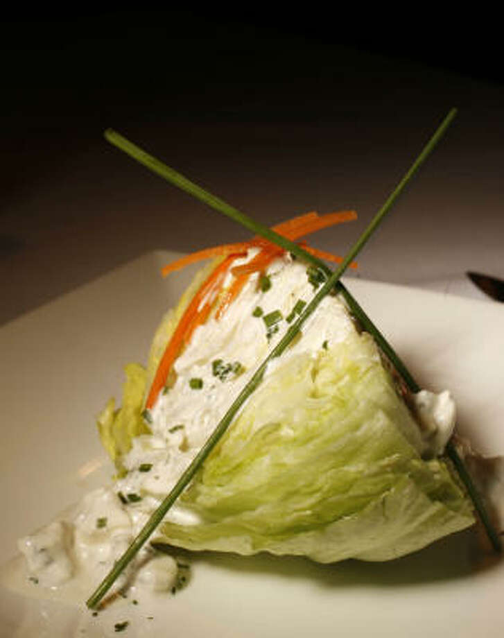 Wedge salad. Photo: Mayra Beltran, Chronicle