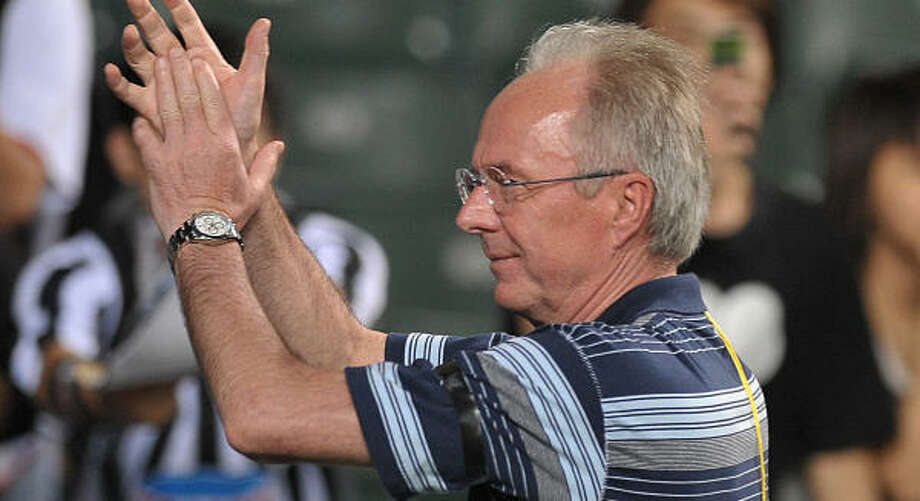 Sven-Goran Eriksson managed Manchester City last season in England. Photo: MIKE CLARKE, AFP/Getty Images