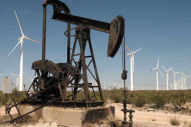 """McCamey, a small town about 50 miles south of Odessa, boasts 800 wind turbines and the title of """"Wind Capital of Texas."""" Some ranchers say the turbines are a threat to the environment and property values."""