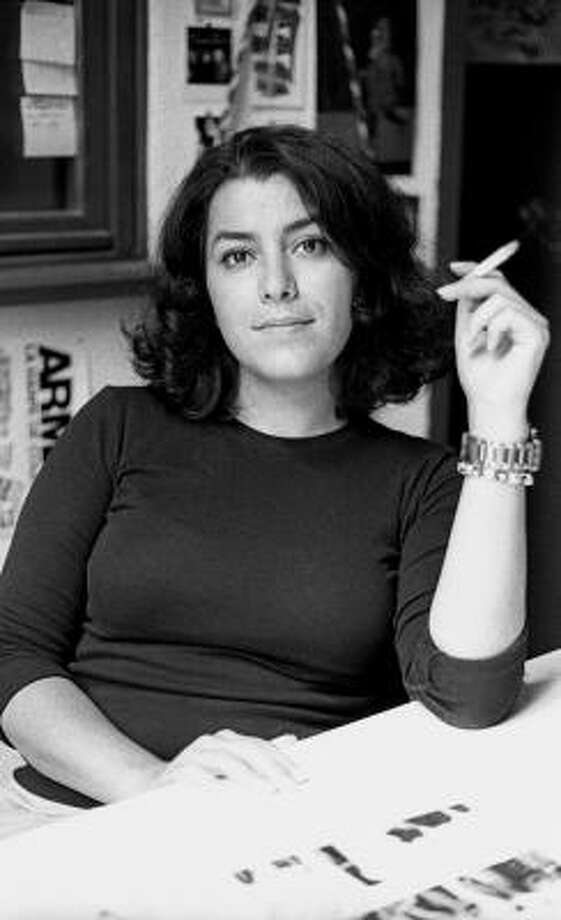 Marjane Satrapi, who was raised in Iran during the Khomeini-era and later escaped to France, is best known for her graphic memoirs Persepolis and Persepolis 2. Photo: MARIA ORTIZ