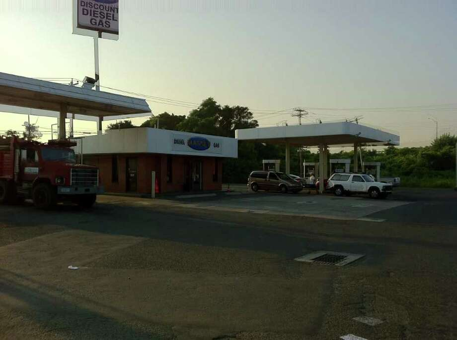 The Massey gas station in Bridgeport, Conn. re-opened on the morning of Friday, July 22, 2011, eight hours after a man was shot dead while pumping gas. Photo: Tom Cleary