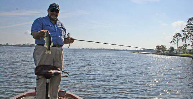 Fishing spots near houston stocked by tpwd houston chronicle for Lake houston fishing