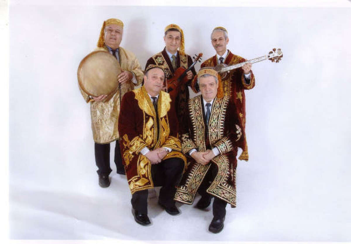 The Ezro Malakov music ensemble from Uzbekistan will perform at 7:30 p.m. May 17 at the Rothko Chapel as part of the groundbreaking events for the new Asia Society Texas Center building.