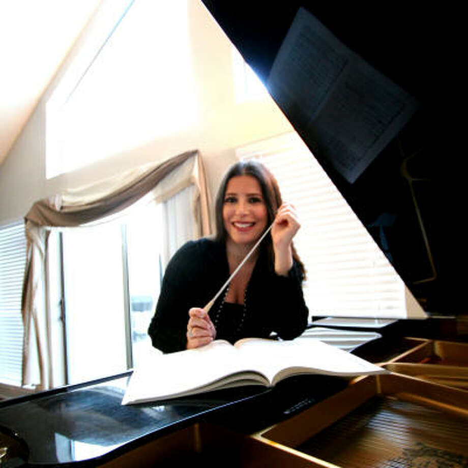 Libi Lebel, a graduate of the Julliard School in New York and Westminster Choir College, founded in 2000 the Doctors Orchestra of Houston, a group of approximately 80 musicians whose professions range from surgeons to medical secretaries. Photo: Jason Brown, For The Chronicle