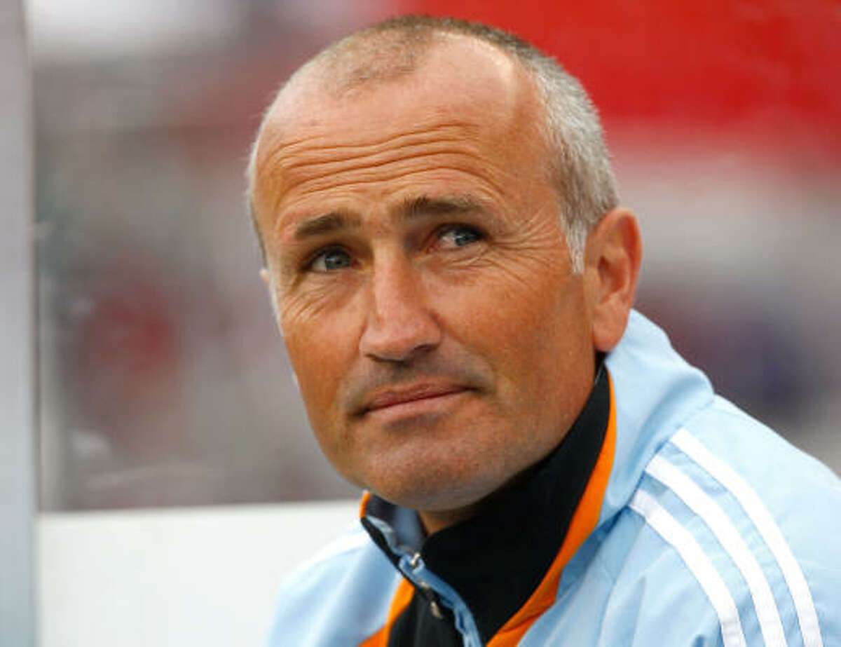 Coach Dominic Kinnear and the Dynamo will be missing more key players for at least the next three weeks.