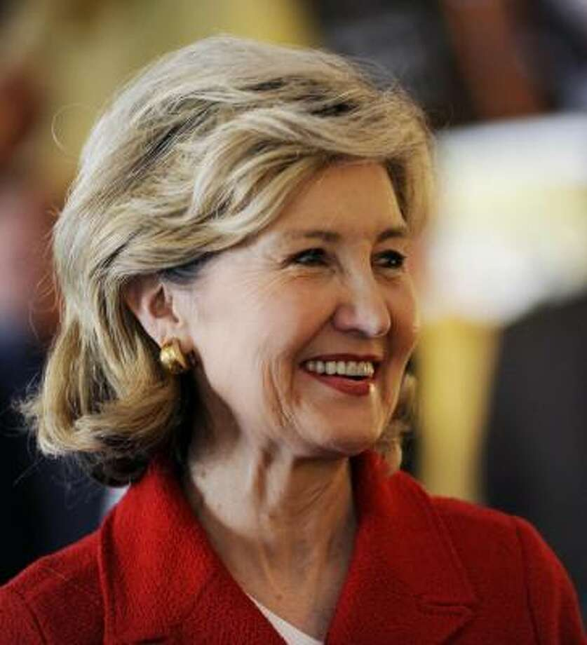 Lawmakers from both parties praised Sen. Kay Bailey Hutchison's service. Photo: Jaime R. Carrero, AP