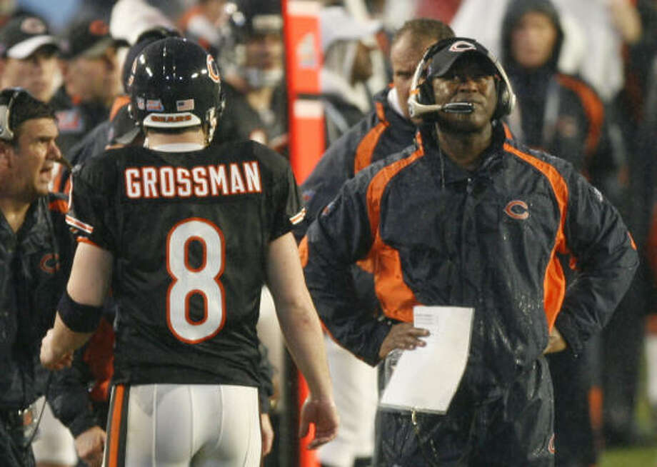 Bears' Grossman shows his bad side in loss Houston Chronicle