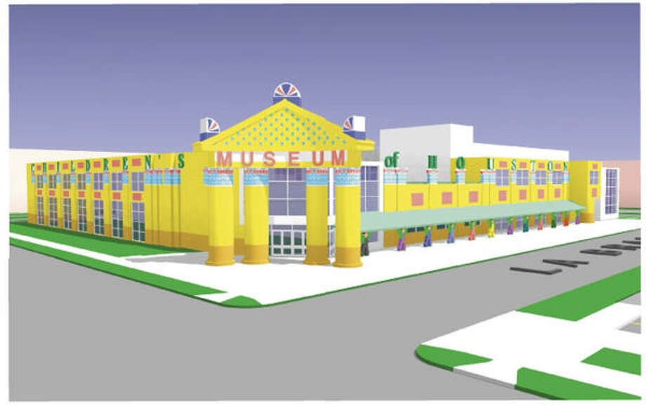 The Children's Museum of Houston, 1500 Binz, will break ground Aug. 26 for a new three-level building addition that will join the current Mary Gibbs Jones Building. It will house seven new bilingual exhibit galleries designed to provide families with interactive learning experiences. Photo: Children's Museum Of Houston