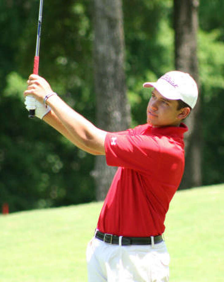 Cory Whitsett is looking for his second consecutive victory at the U.S. Amateur, a tough task considering it has not been accomplished since Tiger Woods won three consecutive tournaments from 1991-93. Photo: Gerald James, For The Chronicle