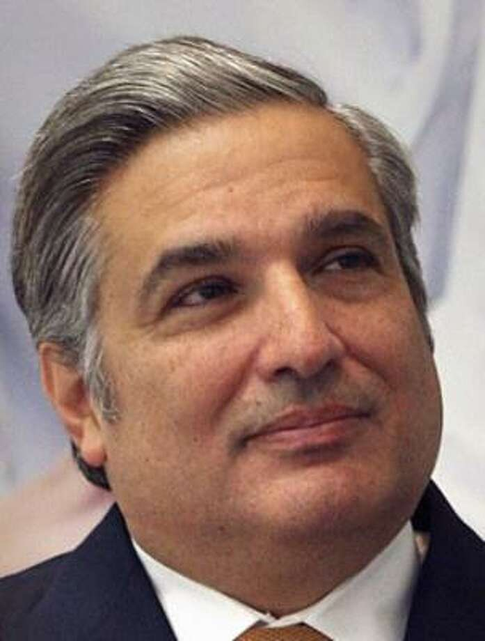 Cigarroa, 51, who recently announced he would step down as president of the University of Texas Health Science Center at San Antonio in late 2009, is a Laredo native and transplant surgeon with an Ivy League pedigree. Photo: BOB OWEN, SAN ANTONIO EXPRESS-NEWS