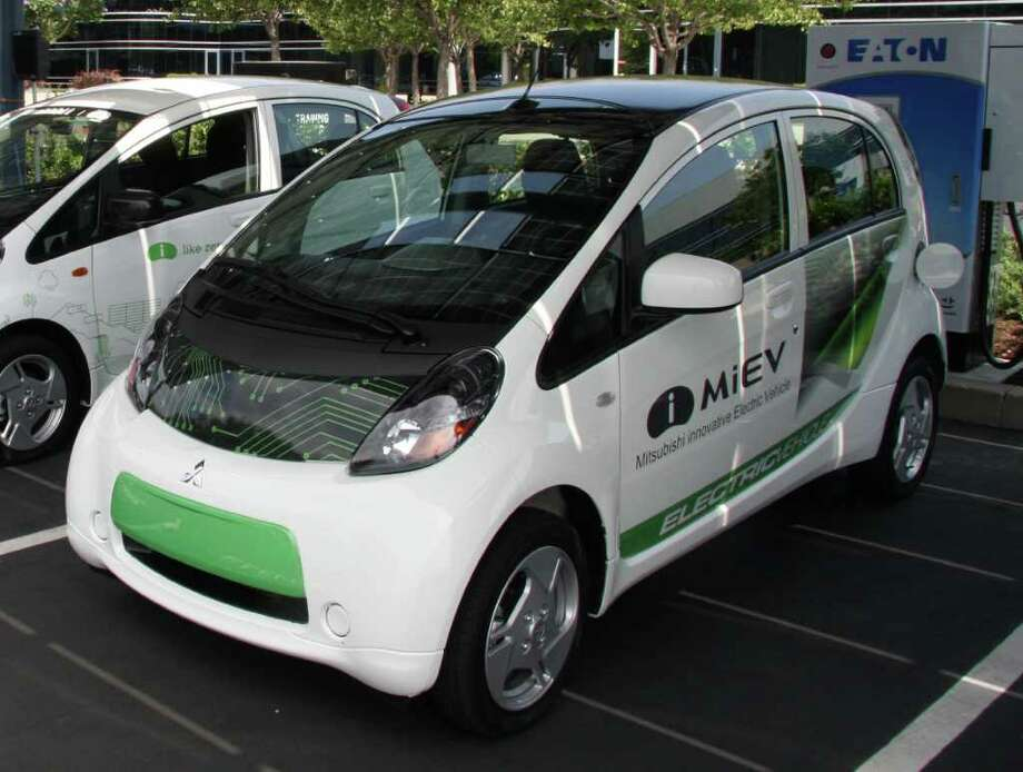 The 2012 Mitsubishi iMiEV subcompact battery-electric vehicle goes on sale later this year with a starting price of $27,990. COURTESY OF MITSUBISHI MOTORS NORTH AMERICA Photo: Mitsubishi Motors, COURTESY OF MITSUBISHI MOTORS NORTH AMERICA