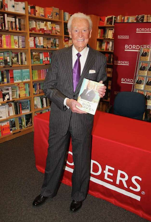 "NEW YORK - APRIL 09:  Bob Barker attends his book signing of ""Priceless Memories"" at Borders Books, Park Avenue on April 9, 2009 in New York City.  (Photo by Theo Wargo/Getty Images) *** Local Caption *** Bob Barker Photo: Theo Wargo, Getty Images / 2009 Getty Images"