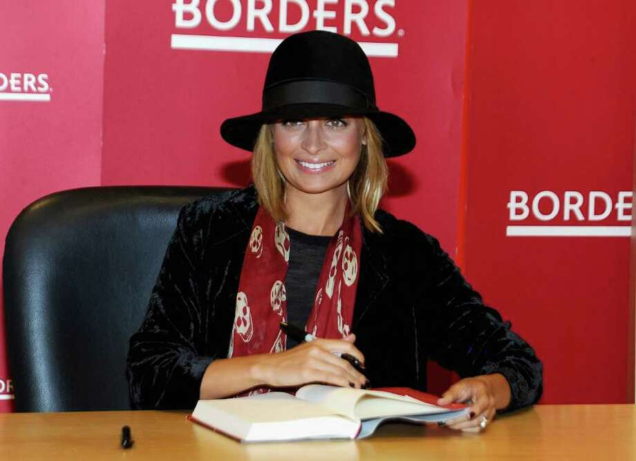"NEW YORK - SEPTEMBER 28:  Nicole Richie promotes ""Priceless"" at Borders Books & Music, Columbus Circle on September 28, 2010 in New York City.  (Photo by Jamie McCarthy/Getty Images) *** Local Caption *** Nicole Richie Photo: Jamie McCarthy, Getty Images / 2010 Getty Images"