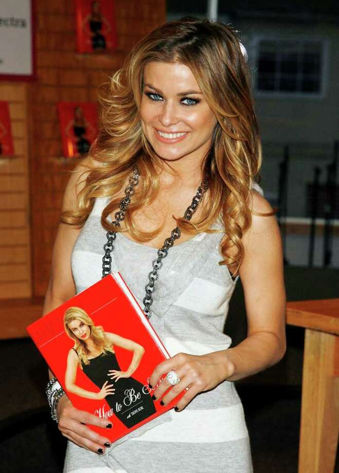 "LOS ANGELES - MAY 8:  Actress Carmen Electra poses before signing her new book ""How To Be Sexy"" at Borders Books and Music on May 8, 2007 in Los Angeles, California. (Photo by Kevin Winter/Getty Images) *** Local Caption *** Carmen Electra Photo: Kevin Winter, Getty Images / 2007 Getty Images"