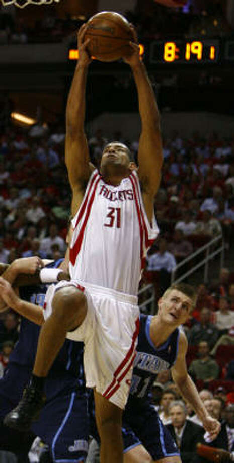 Rockets forward Shane Battier said on Wednesday he won't be making the trip to Beijing with the U.S. Olympic team this summer because of surgery to his left ankle. Photo: Nick De La Torre, Houston Chronicle