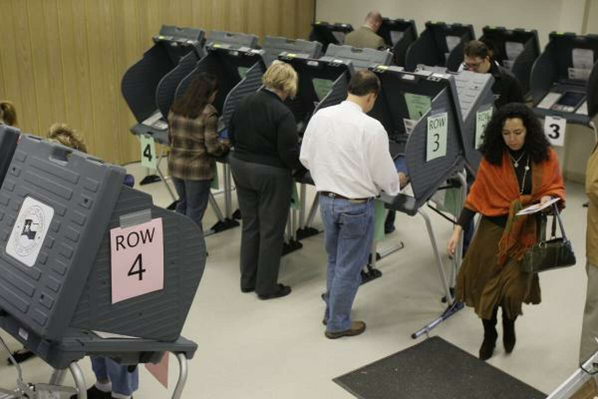 The Metropolitan Multi-Service Center, 1475 W. Gray, drew the highest number of early voters in Harris County through Tuesday night, with more than 8,000 ballots cast.