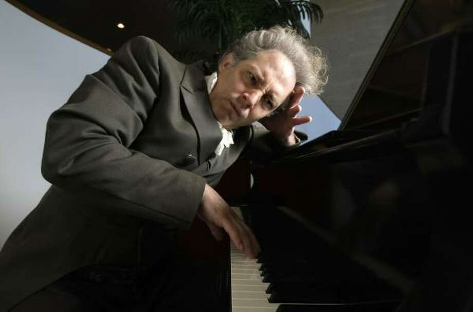 "The last period of Beethoven's music was dominated by an idealism disconnected from musical normality because of his deafness. ""(His) music got less physically earthbound and more spiritual with every year, even the (piano) sonatas,"" says Hans Graf, music director of the Houston Symphony. Photo: KAREN WARREN, CHRONICLE"