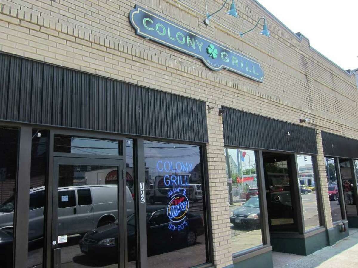 Stamford's Colony Grill is known for its thin-crust pizza.