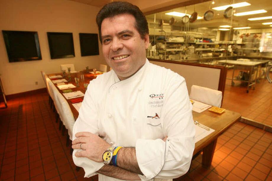 Quattro chef Gaetano Ascione. Photo: Bill Olive, For The Chronicle