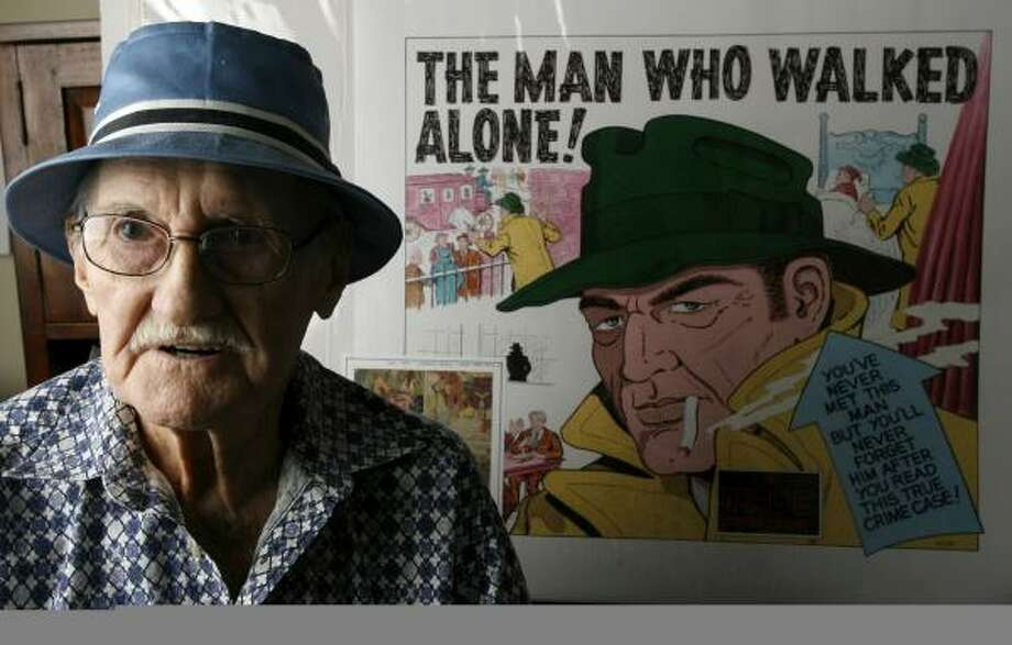 Marion Sitton, now 88, had a reputation at Timely/Marvel Comics as an artist who would get a panel right. Photo: KAREN WARREN, CHRONICLE