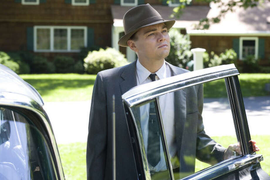 Leonardo DiCaprio plays a 1950s suburban husband in Revolutionary Road. Photo: Francois Duhamel, Dreamworks