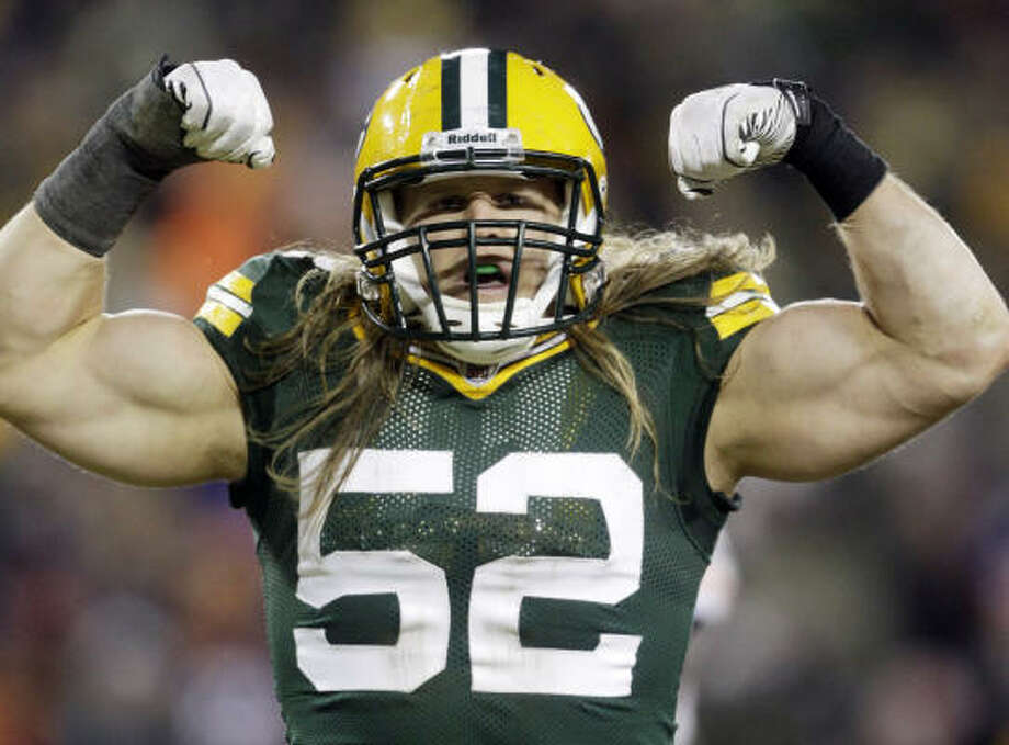 Clay Matthews has a chance to become the first in the family to earn a Super Bowl ring. Photo: Morry Gash, AP