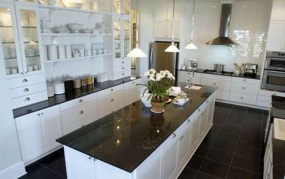 Martha Stewart Kitchen Model Maidstone : The spacious kitchen area in the Martha Stewart Katonah model home in ...