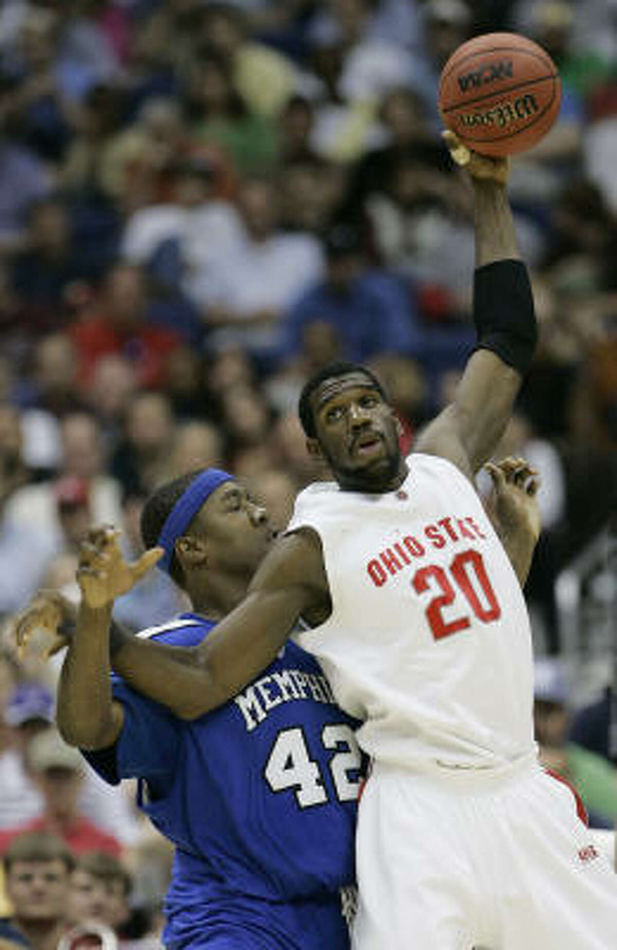 Ohio State center Greg Oden would make a fine consolation prize for a team that doesn't make the playoffs.